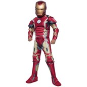 Avengers 2: Age of Ultron Deluxe Iron Man Mark 43 Costume For Kids
