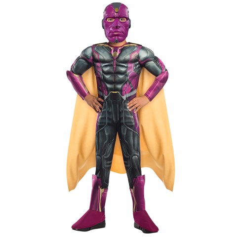 Avengers 2 - Age of Ultron: Deluxe Vision Costume For Kids