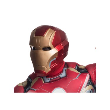 "Avengers 2 - Age of Ultron: ""Mark 43"" Iron Man 2 Piece Mask For Men"