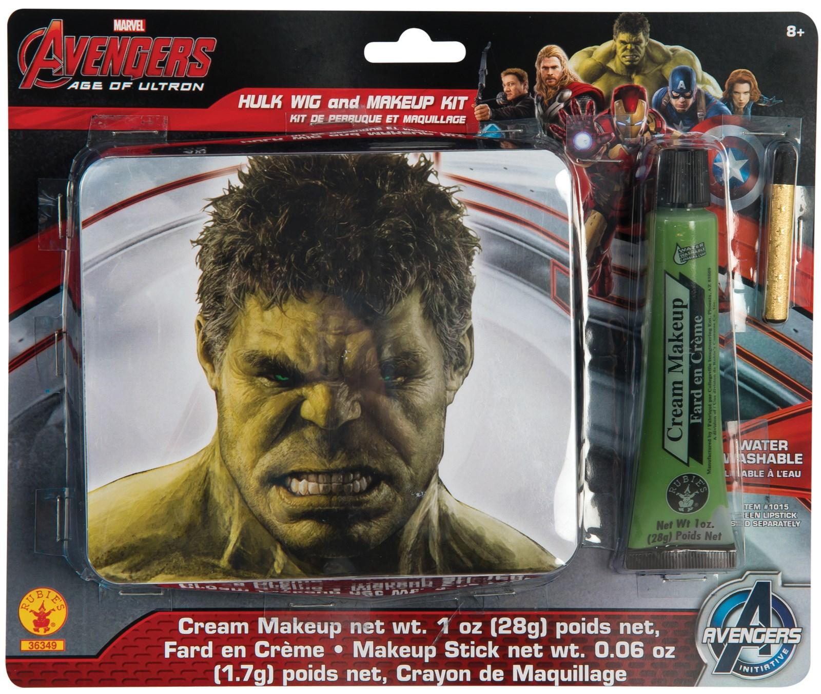 Avengers 2 – Age of Ultron: The Hulk Costume Makeup Kit