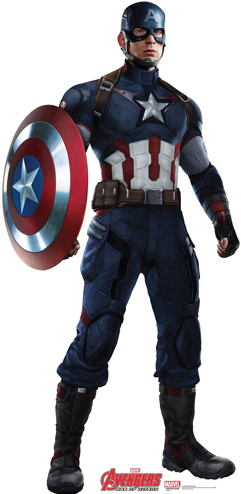 Avengers Age of Ultron Captain America Standup - 6 Tall