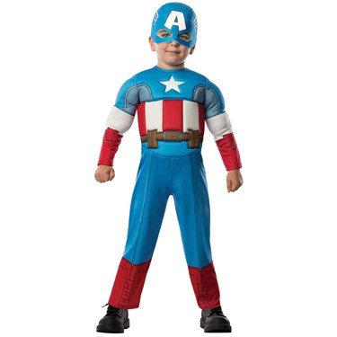 Avengers Assemble Captain America Toddler Costume