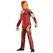 Avengers Assemble Deluxe Iron Man Kids Costume