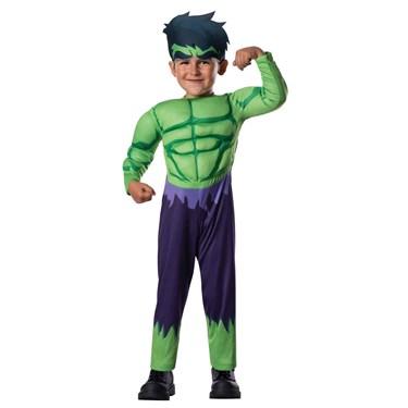 Avengers Assemble Hulk Toddler Costume