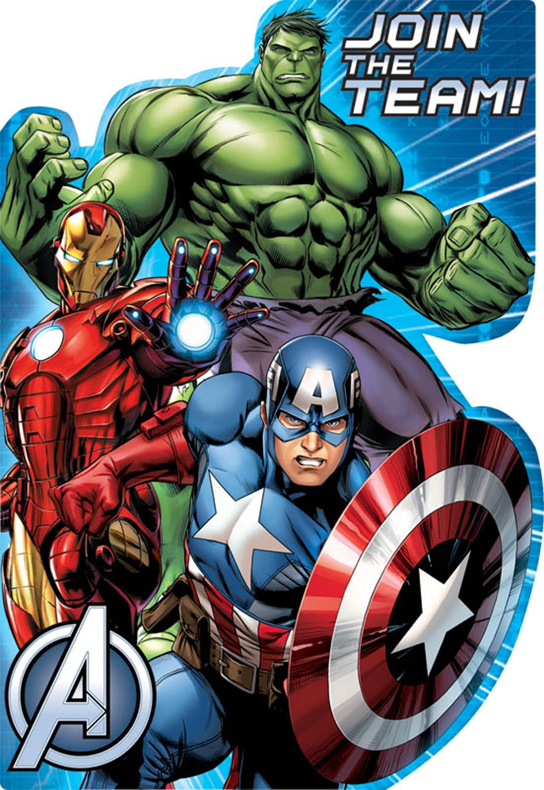 Avengers Assemble Invitations 8
