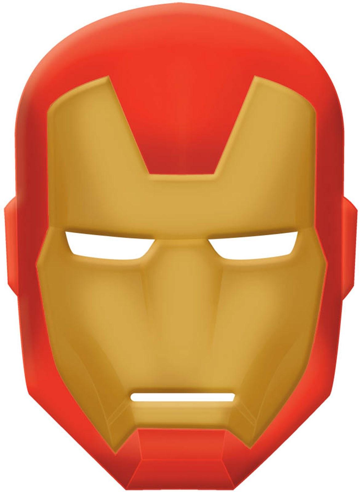 Avengers Assemble Iron Man Mask