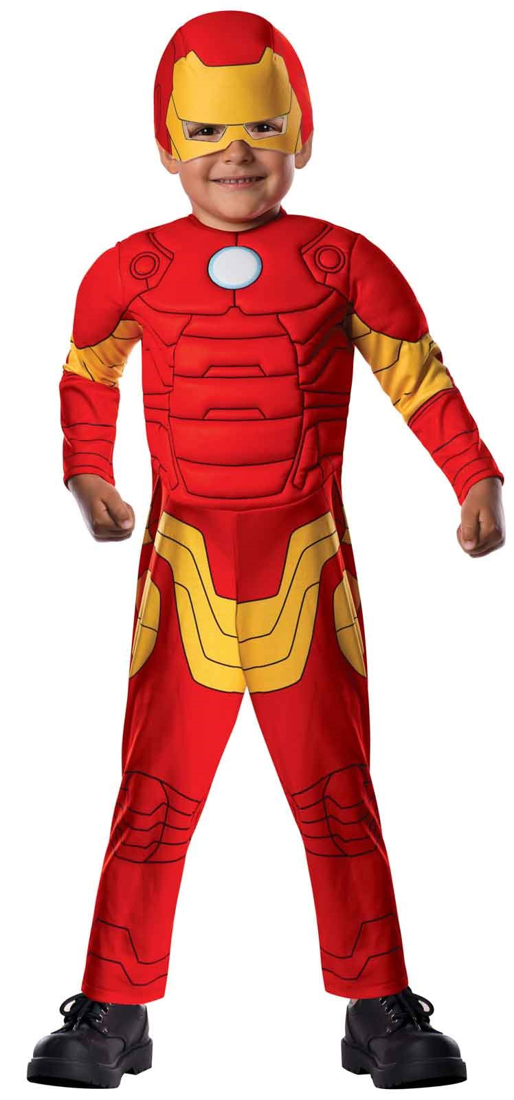 avengers assemble iron man toddler costume. Black Bedroom Furniture Sets. Home Design Ideas