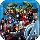 Avengers Assemble Squared Dinner Plates