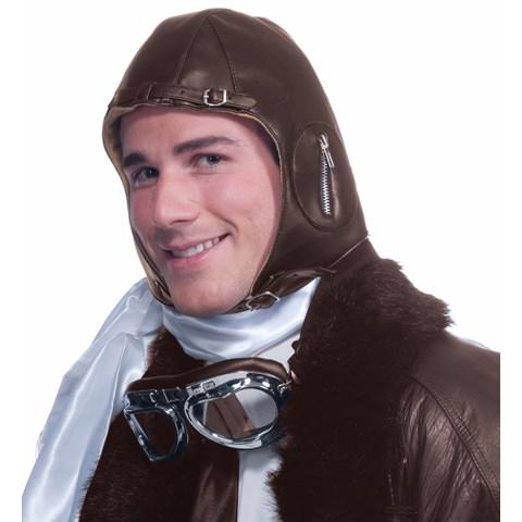Aviator Brown Hat