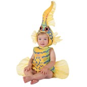 Baby Anne Geddes Yellow Gobi Fish Costume