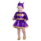 Baby Batgirl Dress & Diaper Cover Set Costume
