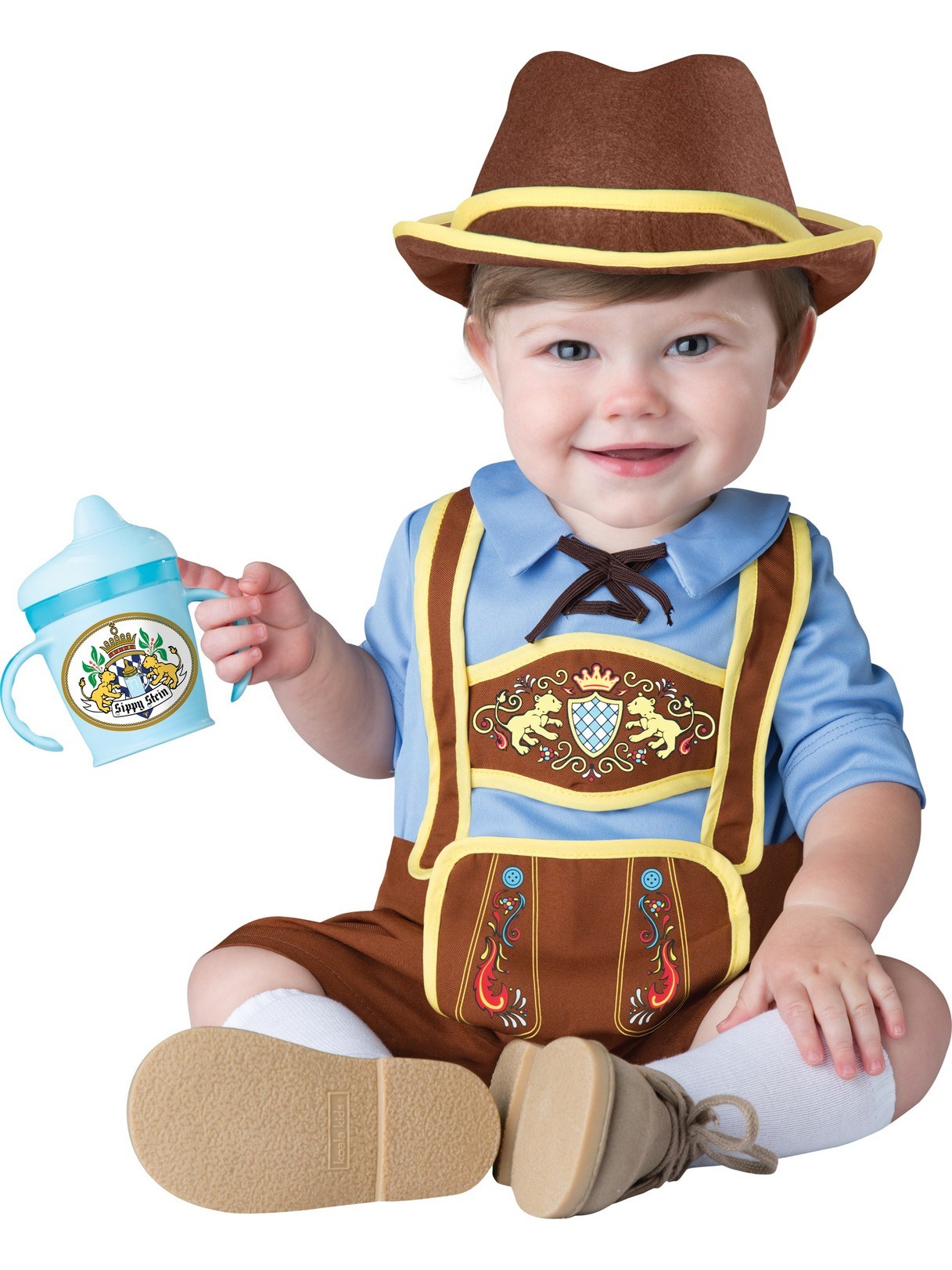 Baby Little Lederhosen Costume