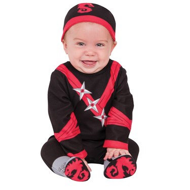 Baby Ninja Toddler Costume