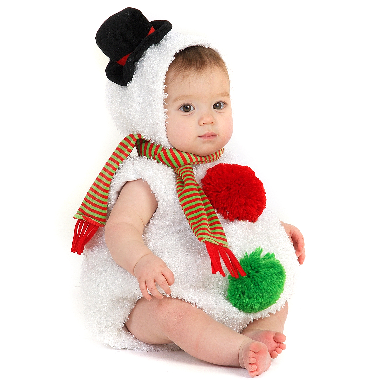 Baby Snowman Infant / Toddler Costume | BuyCostumes.com