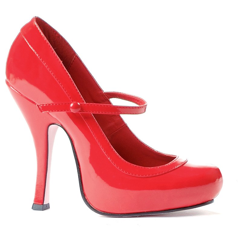 Babydoll (Red) Adult Shoes | BuyCostumes.com