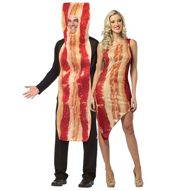 Bacon Couples Costume For Adults