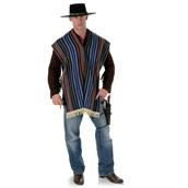 Bandito Poncho Adult Costume