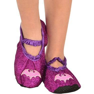 Batgirl - Classic Glitter Child Slipper Shoes