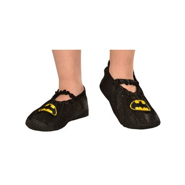 Batgirl - Classic Glitter Slipper Shoes For Girls