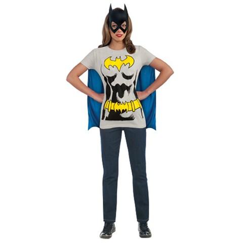 Batgirl T-Shirt Adult Costume Kit