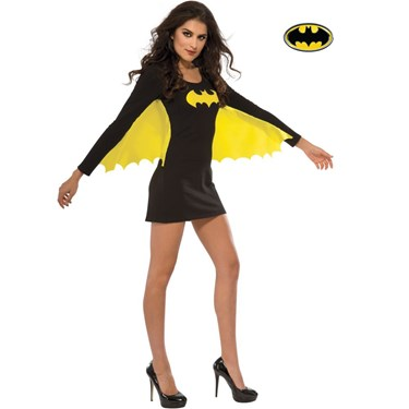 Batgirl Wing Dress Adult Costume