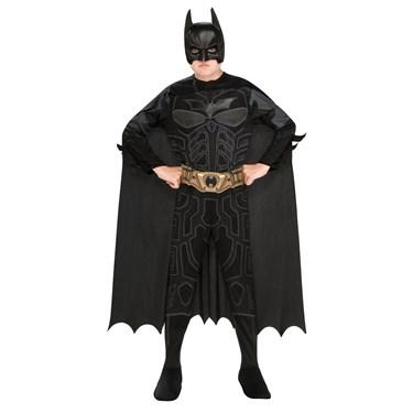 Batman Action Jumpsuit, Belt, Cape & Mask Box Set Child One Size