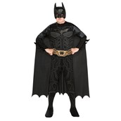 Batman Action Jumpsuit, Belt, Cape & Mask Box Set Child One Size