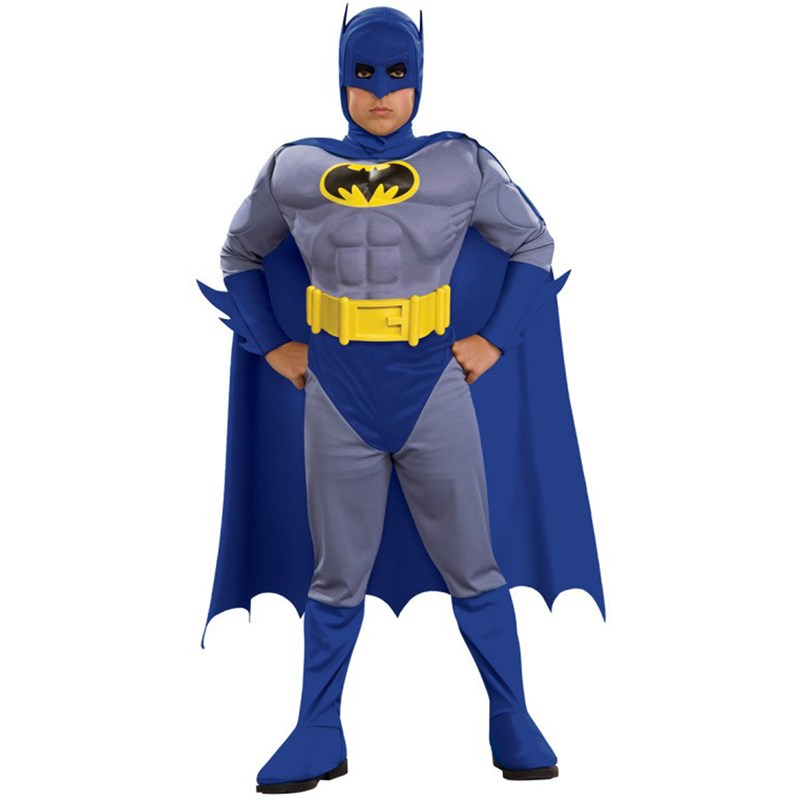 Batman Brave Bold Deluxe M/C Batman Toddler / Child Costume