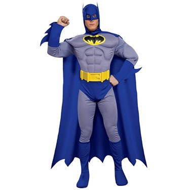 Adult batman costume deluxe