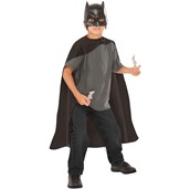 Batman Cape, Mask and Batarangs Set Child One Size