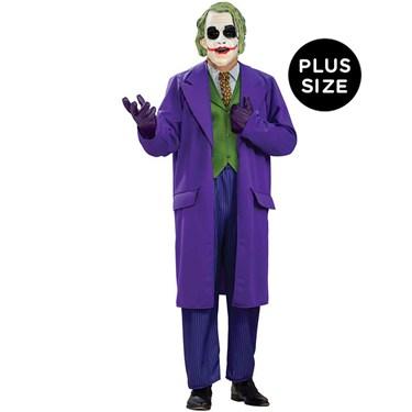 Batman Dark Knight The Joker Deluxe Plus Adult Costume