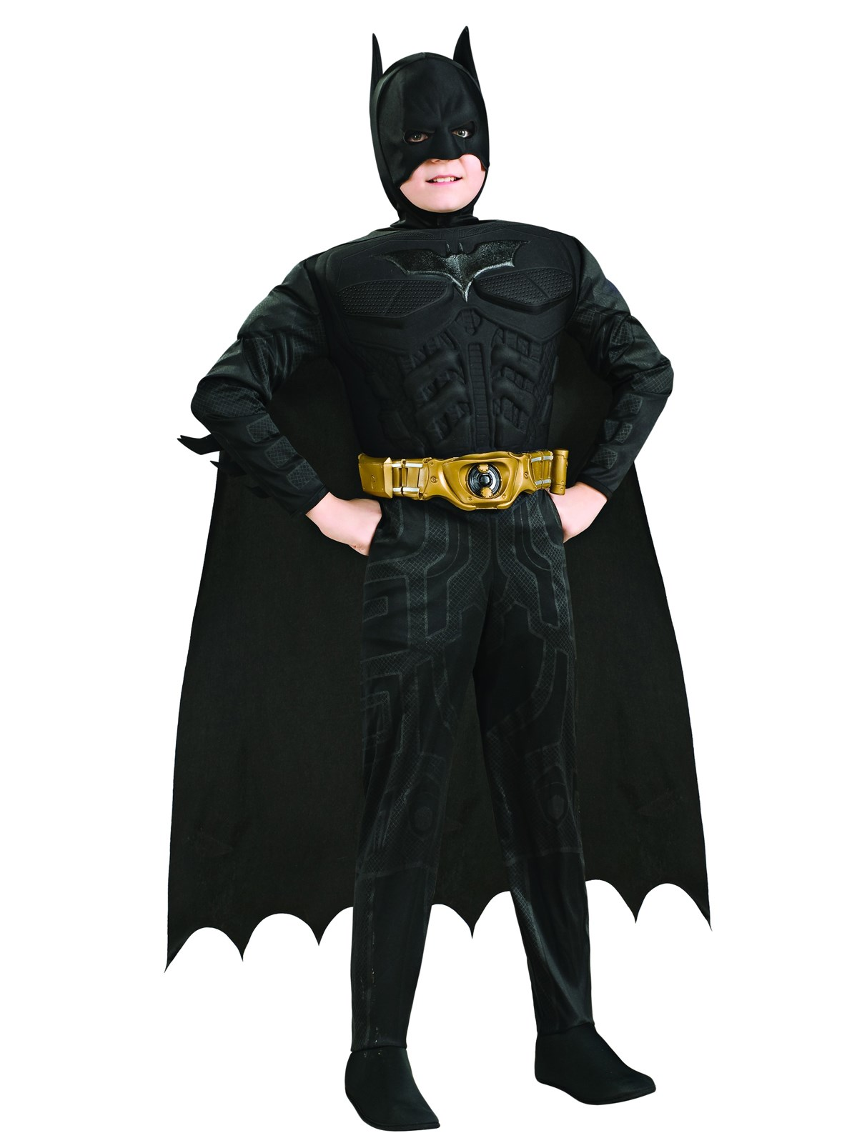 Batman The Dark Knight Rises Deluxe Muscle Chest Child Costume ...