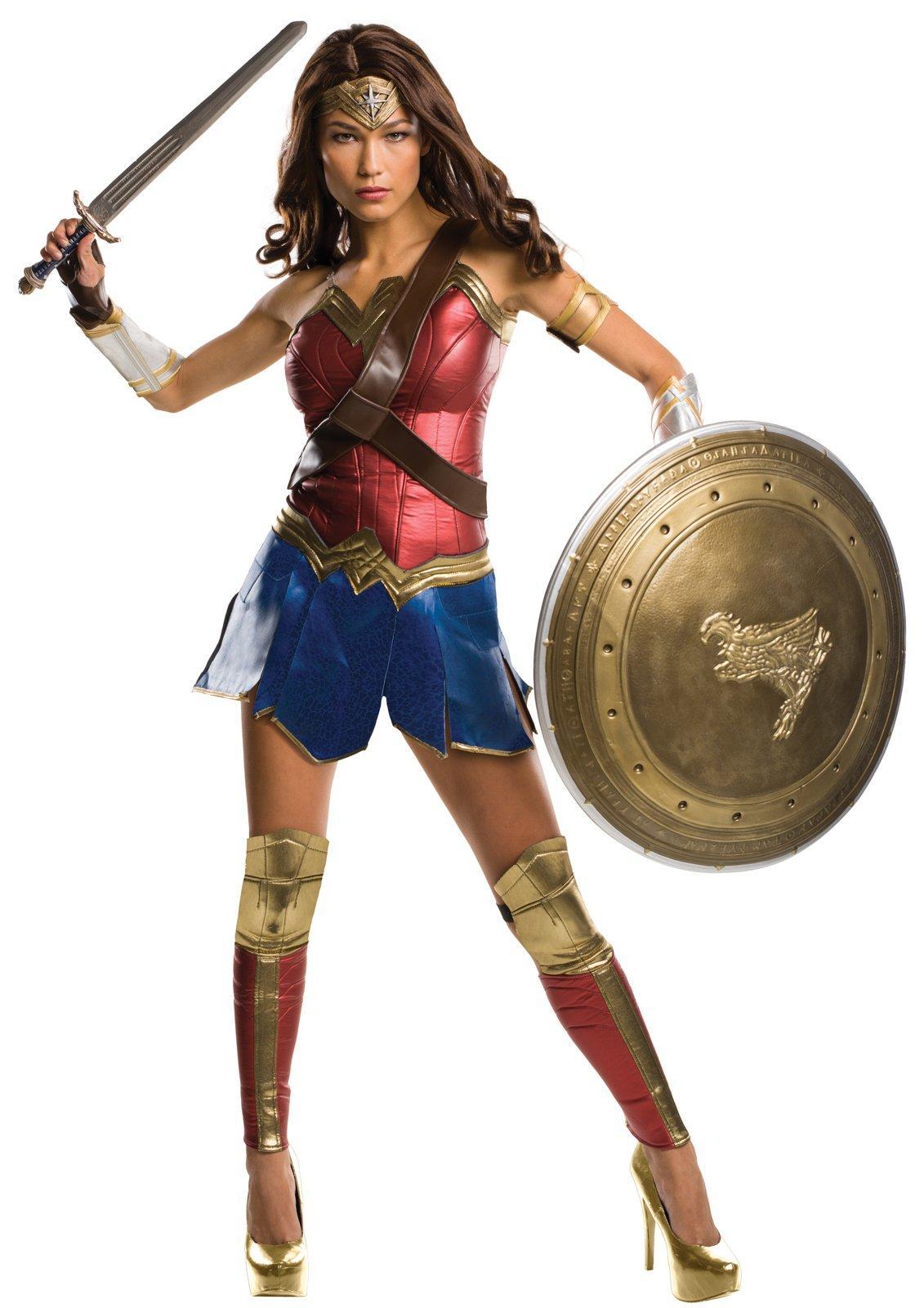 Batman v Superman  Dawn of Justice - Wonder Woman Grand Heritage Adult  Costume L b7c01511f299d