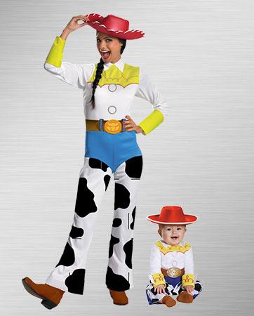 Mom Jessie & Baby Jessie Costume