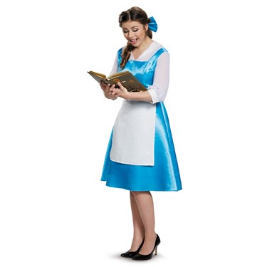 Beauty and the Beast Belle Blue Dress Adult Costume