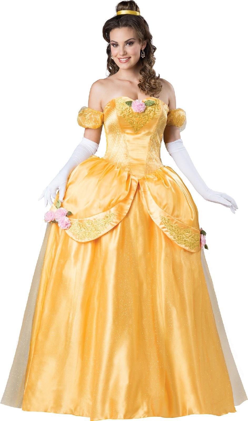 Adult belle dress
