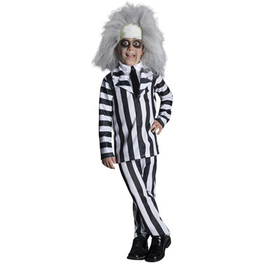 Beetlejuice Deluxe Child Costume