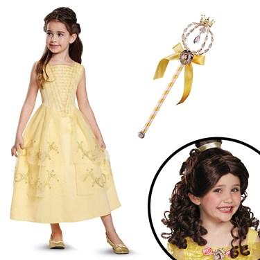 Belle Ball Gown Classic Children's Costume Kit