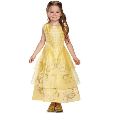 Belle Ball Gown Deluxe Toddler Costume