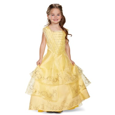 Belle Ball Gown Prestige Child Costume