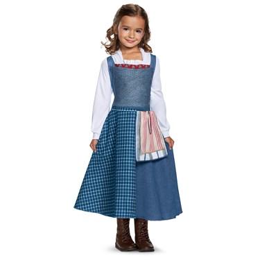 Belle Peasant Look Classic Child Costume