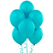 Bermuda Blue (Turquoise) Matte Balloons (6 count)