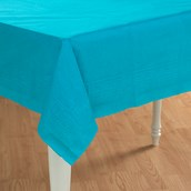 Bermuda Blue (Turquoise) Paper Tablecover
