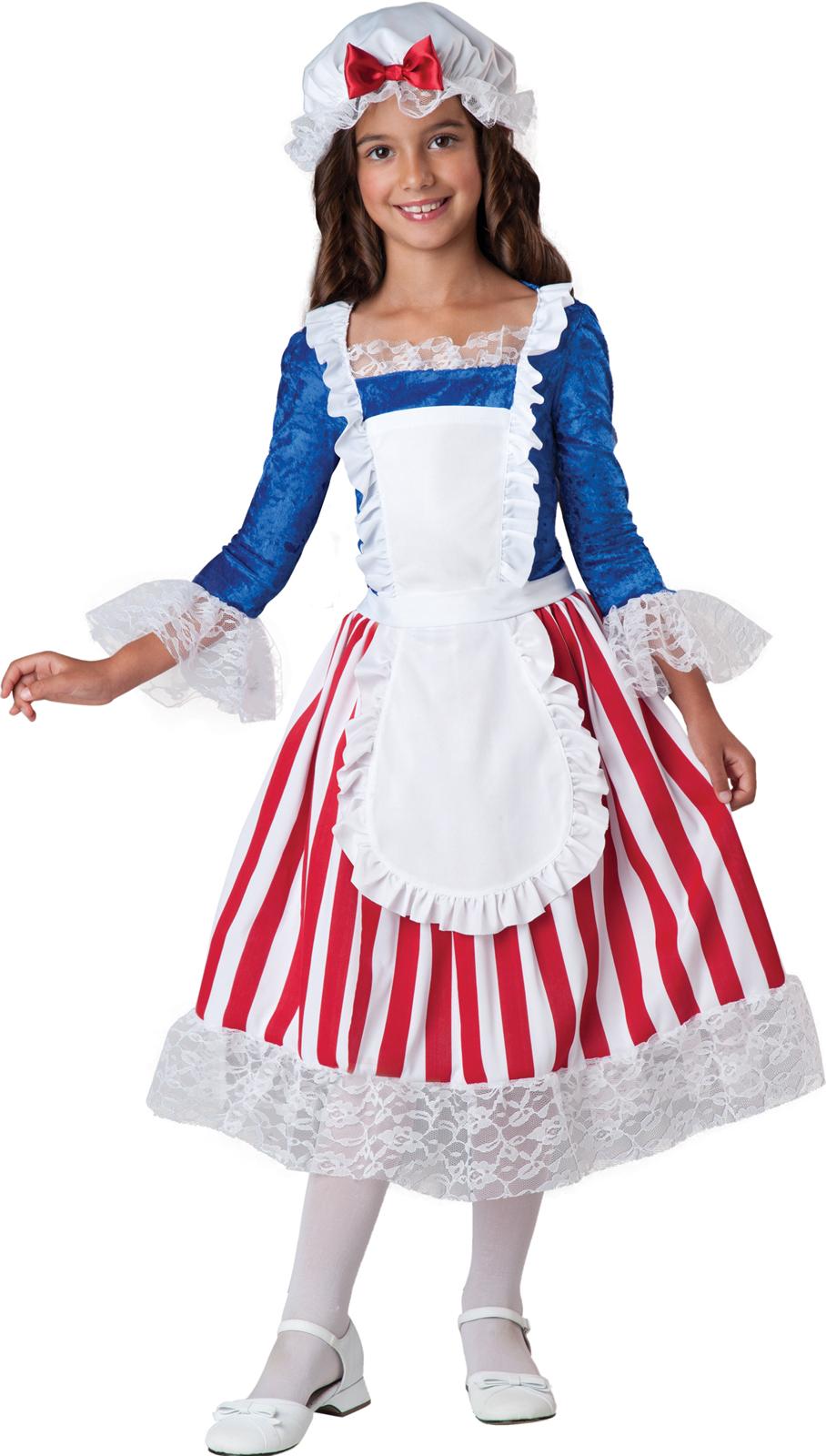 betsy ross child costume large image