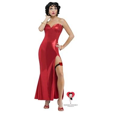 Betty Boop Womens Dress Costume