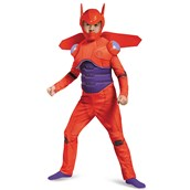 Big Hero 6: Baymax Deluxe Muscle Costume For Toddlers