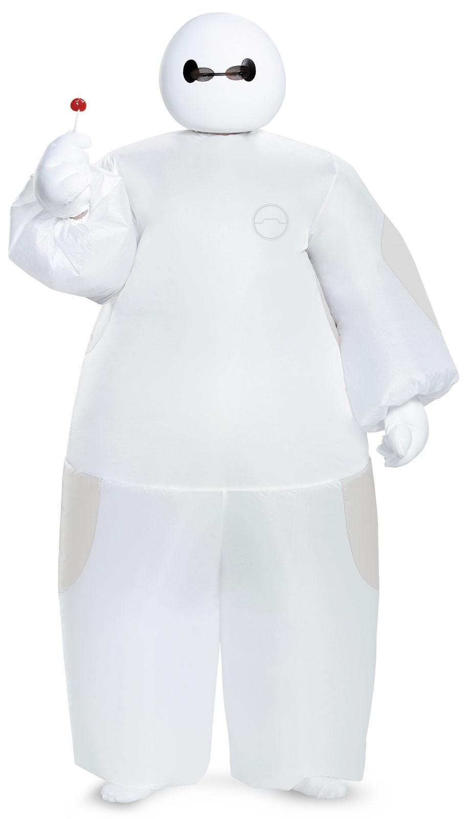 Big Hero 6: Kids White Baymax Inflatable Costume