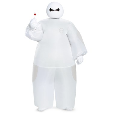 Big Hero 6: Kids White Baymax Inflatable Costume