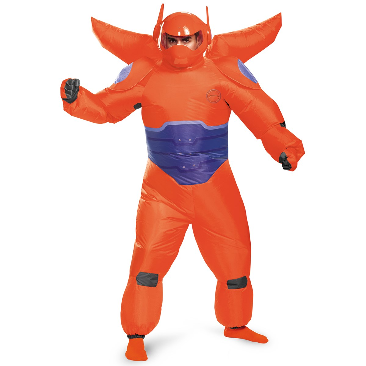 big hero 6 red baymax inflatable costume for adults buycostumescom - Clifford The Big Red Dog Halloween Costume