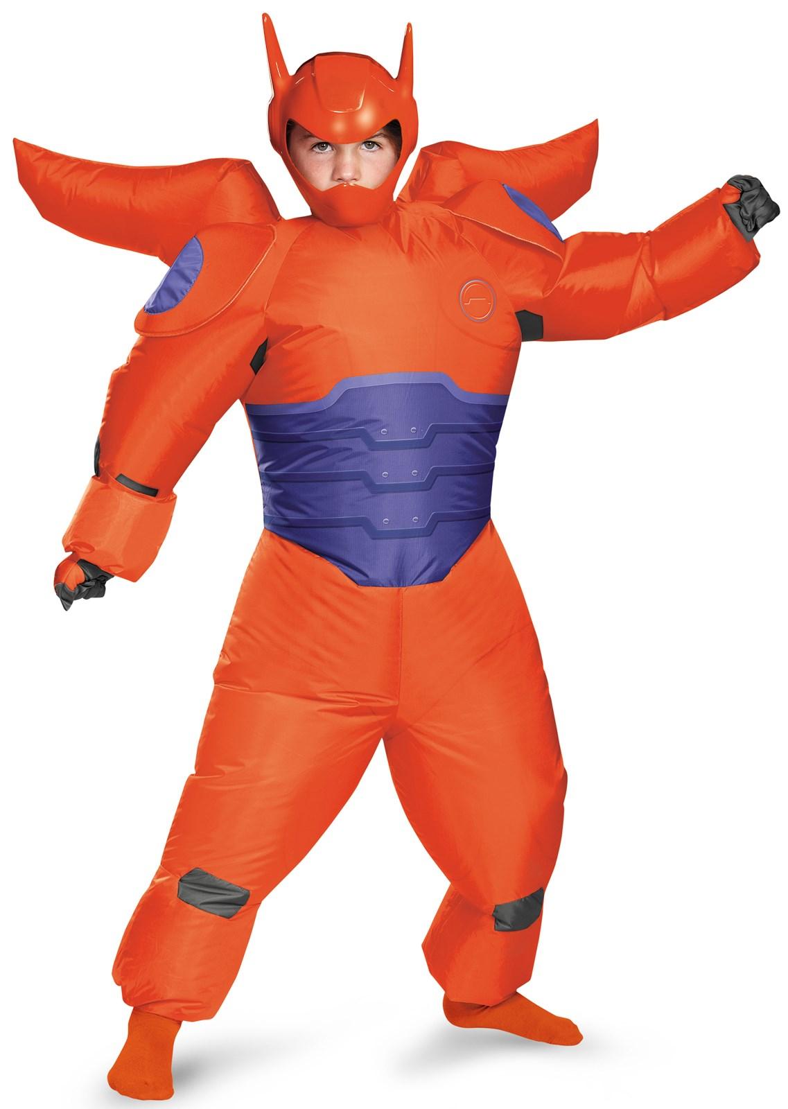 Big Hero 6: Red Baymax Inflatable Costume For Kids | BuyCostumes.com